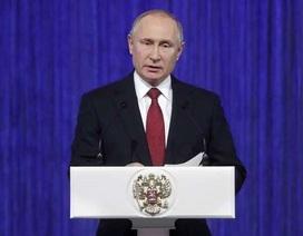 Ông Putin: Thế giới hiện chưa thể phát triển vũ khí tương tự như của Nga