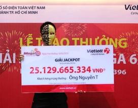 Một tấm vé số trúng hơn 6,3 tỷ đồng phát hành ở Sóc Trăng