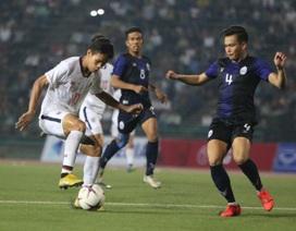 Thua Thái Lan, U22 Campuchia tranh hạng ba với U22 Việt Nam