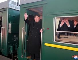 Tàu chở ông Kim Jong-un qua Bằng Tường, chuẩn bị vào Việt Nam