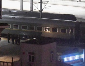 Tàu chở ông Kim Jong-un không dừng ở Bắc Kinh, hướng về miền nam Trung Quốc