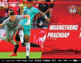 Đặng Văn Lâm bắt chính, Muangthong United thất bại trên sân nhà