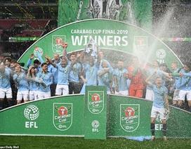 Vượt qua Chelsea ở loạt sút luân lưu, Man City vô địch League Cup
