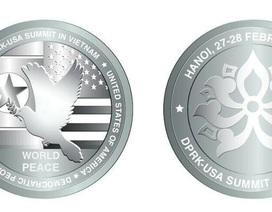 Nửa triệu đồng/xu bạc Hội nghị Thượng đỉnh Mỹ - Triều, tối đa chỉ sản xuất 1.000 xu