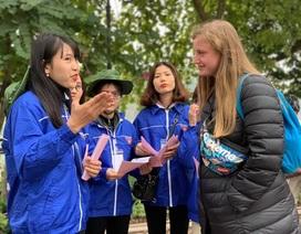 Bạn trẻ quảng bá du lịch Hà Nội nhân Hội nghị thượng đỉnh Mỹ - Triều Tiên