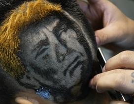 """Salon Hà Nội mở dịch vụ khắc hình ông Trump – Kim lên tóc gây """"sốt"""""""