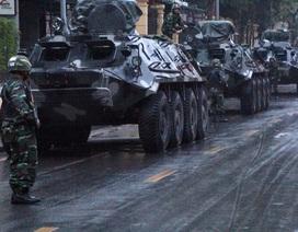 Đoàn xe bọc thép đảm bảo an ninh đón Chủ tịch Triều Tiên Kim Jong-un