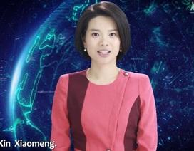 Đài truyền hình Trung Quốc giới thiệu nữ MC bằng AI đầu tiên trên thế giới