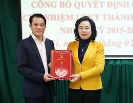 """Hà Nội có tân Chủ nhiệm Ủy ban Kiểm tra Thành ủy sau 1 năm """"trống ghế"""""""