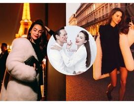 Hồ Ngọc Hà sang Paris cùng Lý Quý Khánh sau tin đồn chuẩn bị kết hôn với Kim Lý