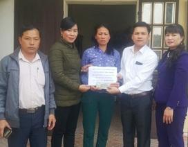 Gần 83 triệu đồng đến với gia đình chị Đoàn Thị Chinh