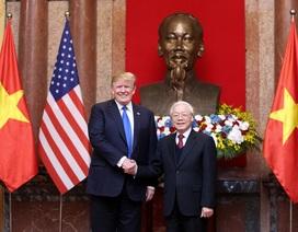 Tổng thống Donald Trump hội kiến Tổng Bí thư, Chủ tịch nước Nguyễn Phú Trọng