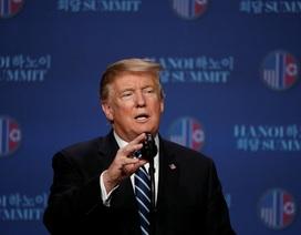 Phản ứng của ông Trump sau cuộc họp báo lúc nửa đêm của Triều Tiên