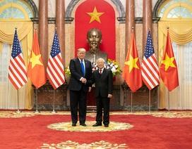 Từ Không lực Một, Tổng thống Trump ca ngợi và cảm ơn Việt Nam