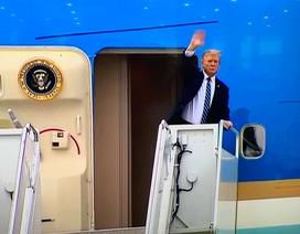 Tổng thống Donald Trump rời Hà Nội sớm hơn dự kiến gần 3 tiếng
