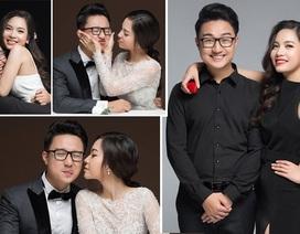 """MC """"Cà phê sáng"""" Dương Sơn Lâm tung bộ ảnh cưới ngọt ngào trước kết hôn"""