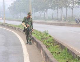 Kiểm tra an ninh tại khu công nghệ cao Hòa Lạc, chờ đón phái đoàn Triều Tiên