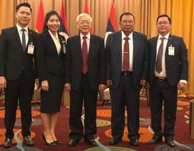 Tổng bí thư, Chủ tịch nước Nguyễn Phú Trọng động viên Tập đoàn Mường Thanh