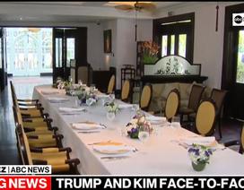 Bàn tiệc trống vì thay đổi phút chót của thượng đỉnh Trump - Kim tại Hà Nội