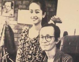 Hồng Nhung chia sẻ bức ảnh quý giá bên nhạc sĩ Trịnh Công Sơn năm 21 tuổi