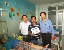 Hơn 94 triệu đồng đến cô bé bị mất một chân vì bệnh u xương