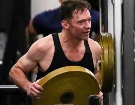 """Người sói"" Hugh Jackman khoe cơ bắp cuồn cuộn ở tuổi 51"