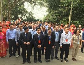 Chuyến hành hương về đất tổ Hùng Vương của các nhà ngoại giao quốc tế