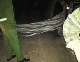 Một phụ nữ nghi bị sát hại ở nghĩa địa