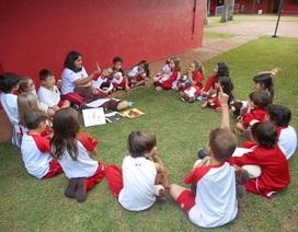 Môi trường học tập hoàn hảo là giúp cho trẻ hạnh phúc