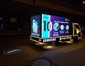 Thế Giới Di Động độ xe, chở Galaxy S10/S10+ diễu phố khắp Sài Gòn, Hà Nội