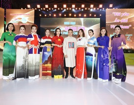 NTK Đỗ Trịnh Hoài Nam ghi dấu ấn với 99 áo dài Quốc kỳ
