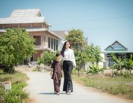Á hậu Trúc Ny dành trọn tâm huyết với công tác thiện nguyện tại quê nhà