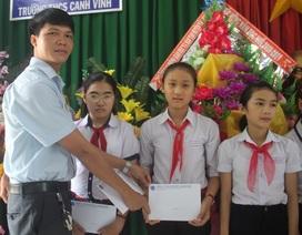 Học bổng Grobest Việt Nam đến với học sinh nghèo hiếu học tỉnh Bình Định