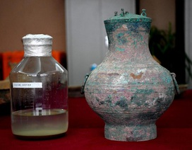 """Bí ẩn thuốc """"trường sinh"""" trong nồi đồng 2.000 năm tuổi ở Trung Quốc"""