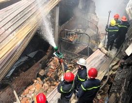 Hai vụ sập nhà, cháy nhà, một người tử vong, nhiều tài sản bị thiêu rụi