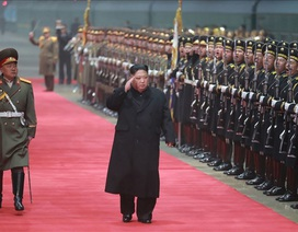 Tàu của ông Kim Jong-un về đến Bình Nhưỡng, không dừng lại ở Bắc Kinh