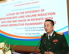 Nghiên cứu sinh thứ 1.000 của Học viện Quân Y bảo vệ luận án Tiến sỹ