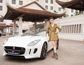 Sau khi đổi nhà mới, Á hậu Huyền My tiếp tục tậu siêu xe 6 tỷ đồng