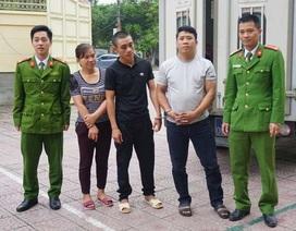 Bắt 3 đối tượng trốn truy nã về thi hành án