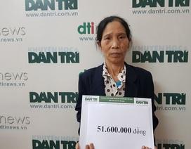 Bạn đọc giúp đỡ gia đình em Nguyễn Thị Hương gần 52 triệu đồng