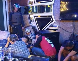Đột kích quán karaoke lúc rạng sáng, phát hiện 40 đối tượng dương tính với ma túy