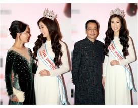 NSƯT Chiều Xuân, NSND Hoàng Dũng chúc mừng Hoa hậu Thuỳ Linh ngày trao lại vương miện