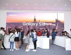 Galaxy S10 chơi lớn với Đại tiệc Công nghệ - Tạo Khác Biệt, giới trẻ Hà Nội trầm trồ