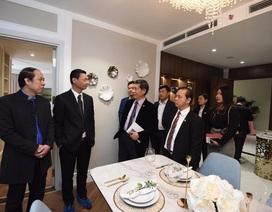 King Palace ra mắt căn hộ mẫu ấn tượng tại Hà Nội