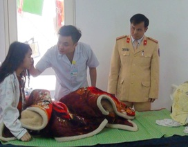 Thiếu tá công an hiến máu cứu nữ sinh lớp 10