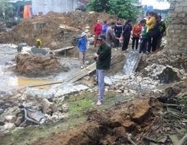 Đào móng nhà, 2 thợ hồ bị tường đè thương vong