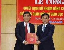 Phó Hiệu trưởng trường Đại học Vinh giữ chức Giám đốc sở GĐ&ĐT Nghệ An