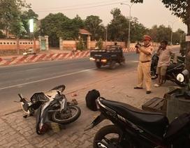 Nữ sinh bị 2 tên cướp kéo lê hàng chục mét dưới đường