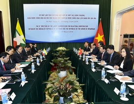Việt Nam - Myanmar: Không cho phép lợi dụng lãnh thổ nước này để chống phá nước kia