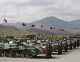 Campuchia tập trận quân sự lớn chưa từng có với Trung Quốc